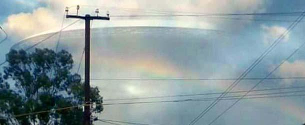 OVNI gigante en la India