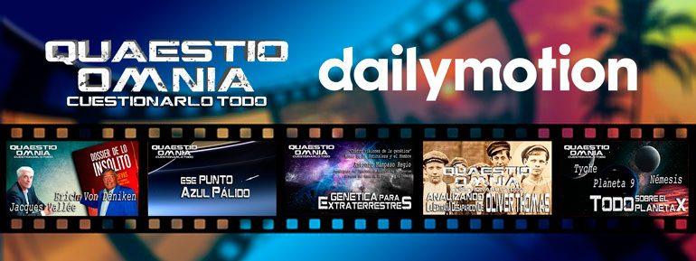 Ahora también en Dailymotion