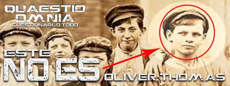 Este NO es Oliver Thomas, el niño desaparecido